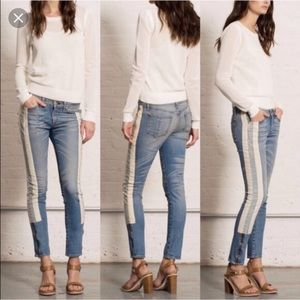 Rag & Bone Relay Moto Jeans with Zipper Ankles
